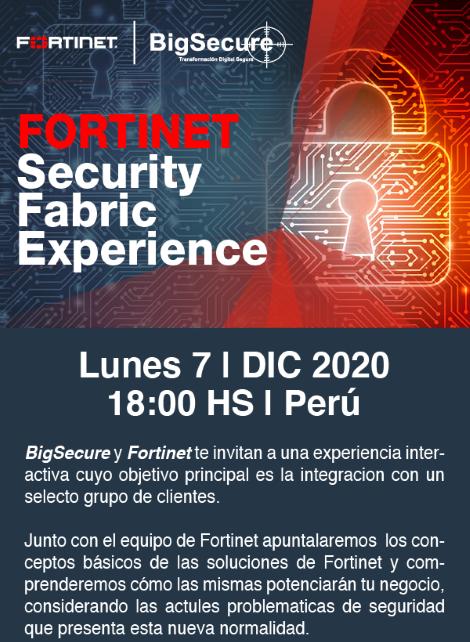 Experiencia en Seguridad - FORTINET